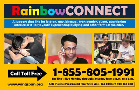 Rainbow Connect Poster at Tucsn LGBTQ.org